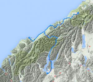 Day 15 - De Fox Glacier à Wanaka, en longeant la côte jusqu'à Jackson Bay