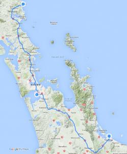 Day 3 - From Tutukaka to Tauranga