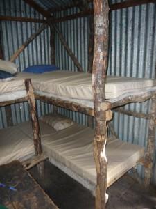 Bealey Hut, confort spartiate
