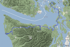 To Olympic national Park