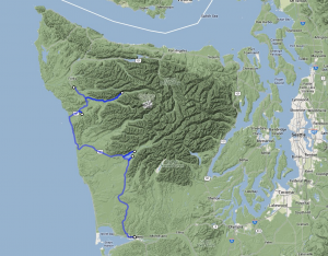 Olympic NP to Aberdeen