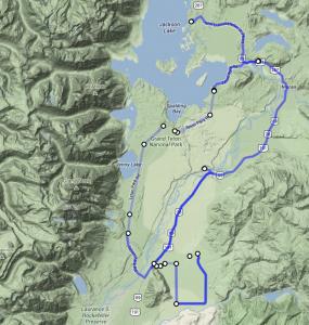 Around the Grand Teton National Park