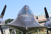 2007, 60-6927, A-12, Art124, Blackbird, California Science Center, Titanium Goose, USA, biplace