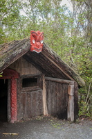 Traditional Maori Hut