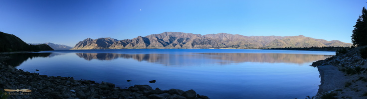 Lake Hawea - Panorama : click to zoom !