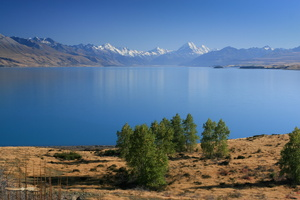 Lake Pukaki with Mount Cook
