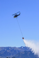 Bell UH-1E with bambi bucket