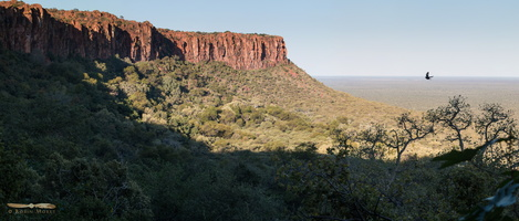 Waterberg plateau cliffs