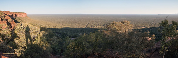 Eastern plains towards Bostwana