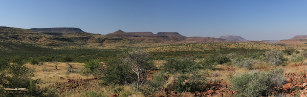 Table mountains in Damaraland