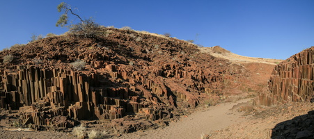 Organ Pipes - Click to open panorama !