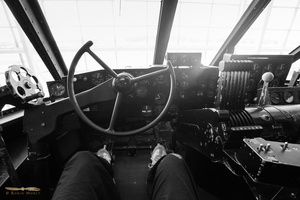 Inside Spruce Goose - From the pilot seat