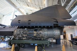 Pratt & Whitney J58 engines