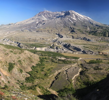 Mount St Helens (18 May 1980) - Click to zoom !