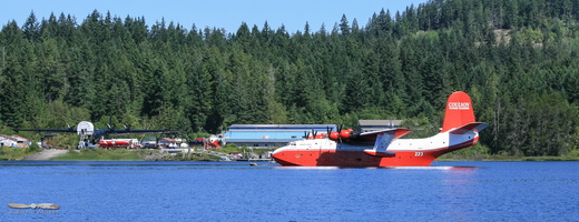 Coulson Flying Tanker base at Lake Sproate, BC check dedicated album