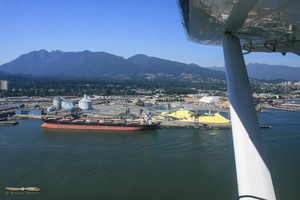 North Vancouver docks