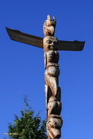 Stanley Park's First Nations totems poles