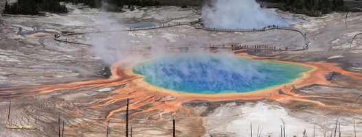 Grand Prismatic - Click to zoom !