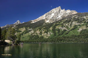 Jenny Lake & Mt Owen, 3940m ( 12928ft)