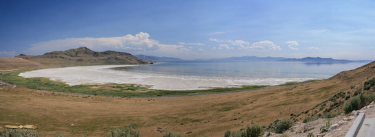White Rock Bay, Antelope Island - Click to zoom !