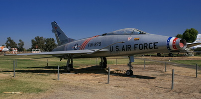 North American F-100B Super Sabre