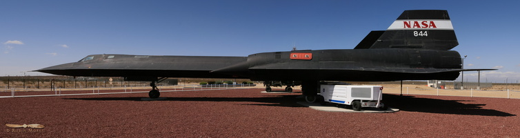 NASA 844, Lockheed SR-71A Blackbird #980