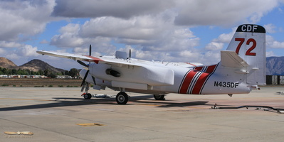Cal Fire Grumman (Marsh) S-2F3AT Turbo Tracker