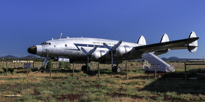 "Lockheed VC-121A Constellation ""Bataan"""