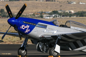 "North American P-51D Mustang ""Lady Jo"""