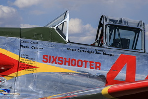 "North American T-6G ""Six Shooter"""