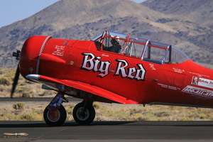 "North American T-6C ""Big Red"""