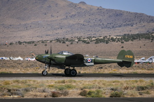"Planes of Fame's Lockheed P-38F ""Glacier Girl"""