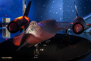Lockheed SR-71B Blackbird twin seater , NASA #831