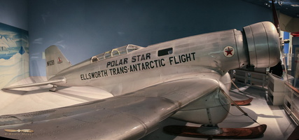 Northrop 4B Gamma, used by Antartic explorer Lincoln Ellsworth