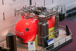 Breitling Orbiter 3 gondola, first balloon to fly around the globe non-stop