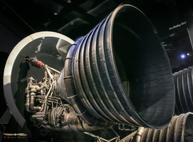 Saturn V Rocketdyne F-1 engine