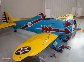 Boeing P-26A Peashooter (replica)