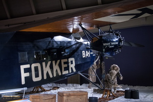 Fokker F-VIIA/3m trimotor, flown to the North Pole in 1926 by Richard Byrd