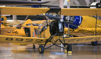 De Havilland Canada DH.82C Tiger Moth with closed cockpit
