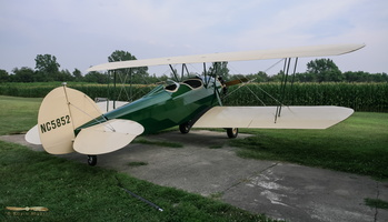 Flying a Waco 10 ASO from the corn fields