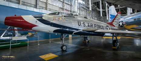 North American F-100D Sabre (Thunderbirds)