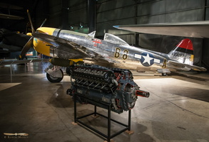 Republic P-47D & Packard Merlin engine