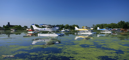 Cessna water parking