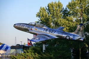T-33 as gate guardian