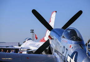 "North American P-51D Mustang ""Little Rebel"""