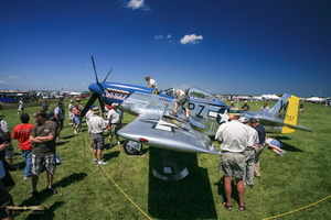 "North American P-51D Mustang ""Little Rebel"" under scrutiny"