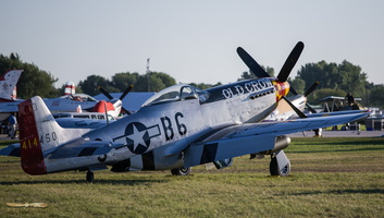 "North American P-51D Mustang ""Old Crow"""