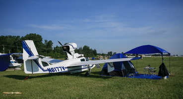 Fly-in and camp