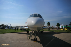 Falcon 50 with Spiroid winglets