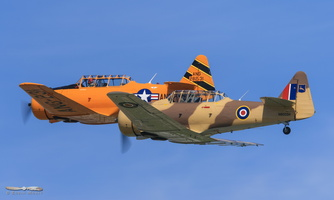 North American T-6G & T-6D Texan